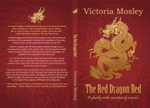 Victoria Mosley - Red Dragon Bed - Create Space Cover