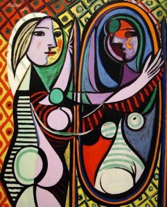Picasso Girl in a mirror