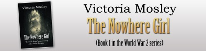 Victoria Mosley - Girl from Nowhere - Banner